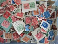 1000~GB Genuine Unsorted Pre-QE11~4 Kings~Charity Kiloware Stamps~on paper UK