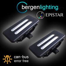 FOR BMW X1 E84 X3 F25 X5 E70 X6 E71 18 LED BLACK VANITY MIRROR SUN VISOR LAMP