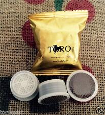 100 Capsule Lavazza Espresso Point Compatibili Toro Caffè Terra in Cialde