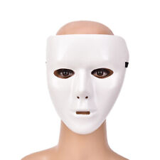Unisex Plastic Scary Mask Masquerade Party Ghost Theater Prop Dance Fancy