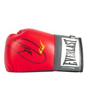 "Dariusz Michalczewski Signed Red Everlast Boxing Glove: ""Tiger"" Signature Editio"