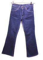 GJ20-81 Levis 525 Damen Jeans blau W29 L30 Schlaghose Flared Leg Stretch regular