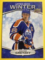 2018 Upper Deck Winter Bounty #W-2 Wayne Gretzky Edmonton Oilers Unscratched