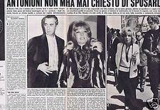 Coupure de presse Clipping 1968 Monica Vitti  (2 pages ) en Italien