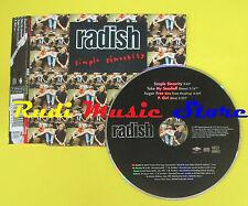 CD Singolo RADISH Simple sincerity 1997 MERCURY MERDD 498568 no lp mc dvd (S6)
