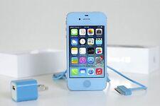 Apple iPhone 4s -16GB Light Blue  (Gsm Unlocked) Straight talk Metro Pcs Criket