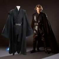 Star Wars Jedi Anakin Skywalker Darth Vader Full Set Suit Cosplay Costume Outfit