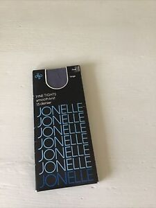 John Lewis Ladies Tights 15 Denier Smooth Knit Steel Blue Large BNWT