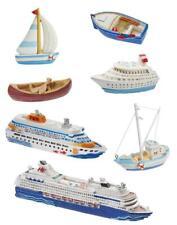 Figura Decorativa Barco 5,5 -12 CM Mesa Marítimo Vacaciones Playa Hobbyfun