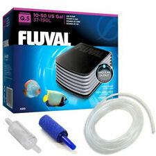 Fluval Q.5 Aquarium Fish Tank Air Pump Single Outlet Free Kit Tanks up to 190L