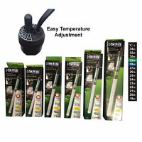 Hidom Submersible Heater & Thermostat + Thermometer For Tropical Fish Tank