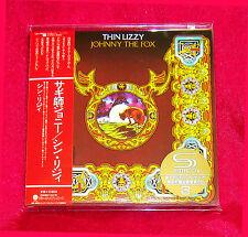Thin Lizzy Johnny The Fox SHM MINI LP CD 2 X CD JAPAN UICY-75033-34