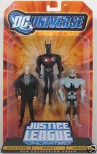 DC Universe JLU JUSTICE LEAGUE 3 PACK BRUCE WAYNE BATMAN Beyond WARHAWK New