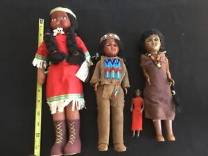 """Indian dolls lot mixed makers Heidi Dolls Poland eyes move 4.5"""" to 14"""""""