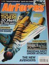 Air Forces Monthly Magazine 2011 August Tiger Meet,Pakistan Navy,CF-18 Hornet