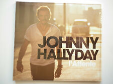 Johnny Hallyday cd album digipack L'Attente
