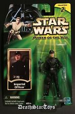 Star Wars POTJ Imperial Officer Lt Shann Childsen Death Star Detention Block ANH