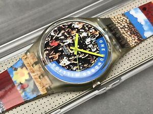 SWATCH UHR ** GZ126 - THE PEOPLE - GENT ** NEU !