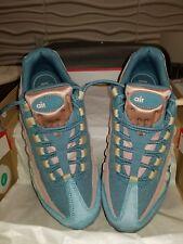 Womens Nike Air Max 95 LX Smokey Blue Mushroom Size 9 Sneakers Shoes