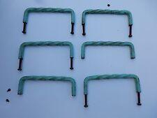 Armario rústico era art deco modernista Asas 100mm de largo de 35 mm de profundidad