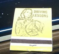 Rare Vintage Matchbook Driving Lessons Sears Easy Method Milwaukee Wisconsin