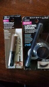 Maybelline Eye Studio Gel Eyeliner Espresso Med brown Brow Drama Plus MAX shadow