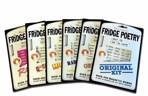 Fridge Poetry Magnetic Words, Funny Magnet Gift for Adults or Learning Languages