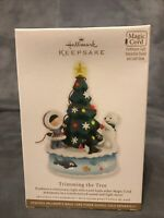 2012 Trimming The Tree Hallmark Ornament-Frosty Friends Keepsake