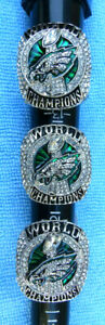 1 Super Bowl LII Ring 2017 - 2018 Souvenir Replica PHILADELPHIA EAGLES Champions