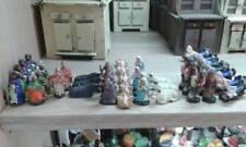 10 pastori 4 cm terracotta artigianali presepe crib shepherd gia art 05