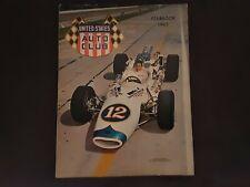 United States Auto Club Yearbook 1965 MARIO ANDRETTI Vintage