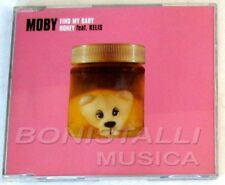 MOBY Ft. KELIS - FIND MY BABY / HONEY - CD Single  Nuovo Unplayed