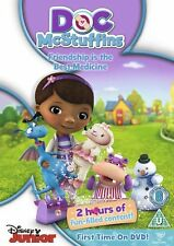 DOC McSTUFFINS FRIENDSHIP IS THE BEST MEDICINE DISNEY JUNIOR UK 2012 DVD NEW