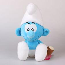 "15"" 38Cm Hefty Smurf Licensed The Smurfs Plush Toys Soft Stuffed Animal Doll"