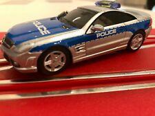 """Carrera Digital 143 Auto 41335 AMG Mercedes SL 63 """"Polizei"""" mit Blinklicht"""