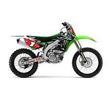 NEW Monster Energy® Kawasaki Supercross/Motocross Team Graphics Kit KX 125 & 250