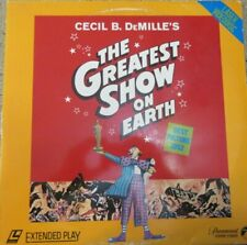 Cecil B. DeMille's The Greatest Show on Earth 1982 Laser Disc Movie