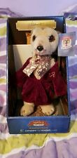 Original Aleksandr Meerkat toy (Alexander) in box with certificate