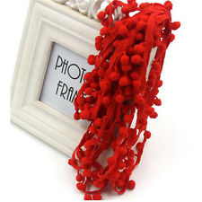20 Yard 17 Color 10MM Pom Pom Trim Ball Fringe Ribbon DIY Sewing Accessory Lace