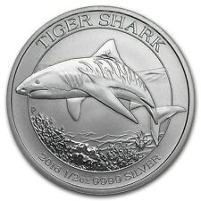 2016 1/2 oz Australia Silver Tiger Shark Coin