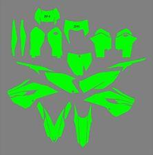 Husqvarna TC FC TE FE 125 250 300 350 450 501 2014-2015 Template vector EPS