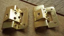 1 x paire 50mm 5.1cm plaque laiton double à manivelle Pivot placard