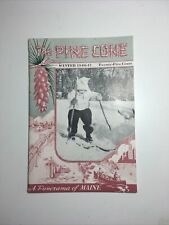 Vintage The Pinecone Winter 1946–1947 Main Brochure Booklet
