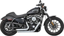 Vance and Hines Shortshots Stagg Chrome 17229 Fits 2014 H-D Sportster VH-0065