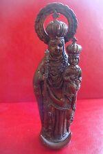 Old bronze SPANISH NOSTRA SENIORA / VIRGIN MARY Statue Figurine