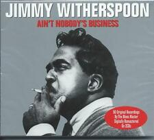 Jimmy Witherspoon - Ain't Nobody's Business - 50 Original Recordings 2CD NEW