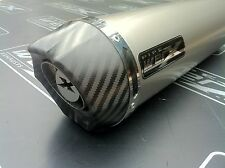 Pipe Werx - Ducati 600 SS Titanium Round Carbon Outlet Exhaust Silencer Can