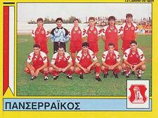 N°365 TEAM PANSERRAIKOS FC GREECE PANINI GREEK LEAGUE FOOT 95 STICKER 1995