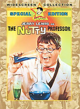 The Nutty Professor (DVD, 2004, Special Collectors Edition) JERRY LEWIS, VG-SHAP