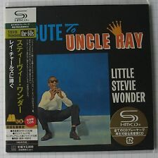 Stevie WONDER-Tribute to Uncle Ray GIAPPONE SHM MINI LP CD OBI NUOVO! UICY - 93864